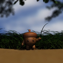 Acorn — Short made as a final project for 3D Projects class. Acorn was modeled, textured, rigged, and animated by myself. Full animation created using a blend of Maya, Mudbox, Photoshop, and Flash.