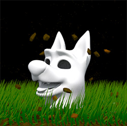 Dog — Freeware rig Cody animated in Maya, imported to Houdini with all other effects done in Houdini as well.
